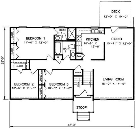 split level homes plans inspirational floor plans split level homes new home