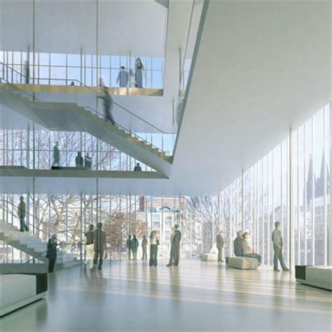 foyer treppen jswd architekten b 252 hnen der stadt k 246 ln