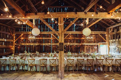 George Weir Barn   Elegant Affairs Caterers   New York