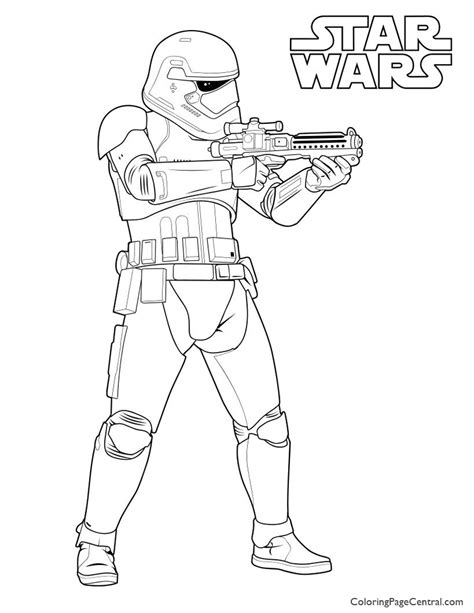 kylo ren and stormtrooper coloring page first order stormtrooper coloring pages bltidm