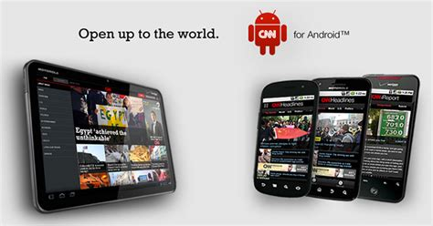 cnn app for android cnn releases an android version of its news app