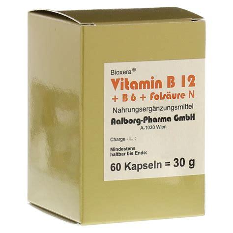 Vitamin N Vitamin B12 B6 Fols 228 Ure Komplex N Kapseln 60 St 252 Ck