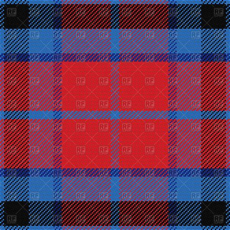 kilt pattern download seamless red and blue scottish tartan pattern royalty free