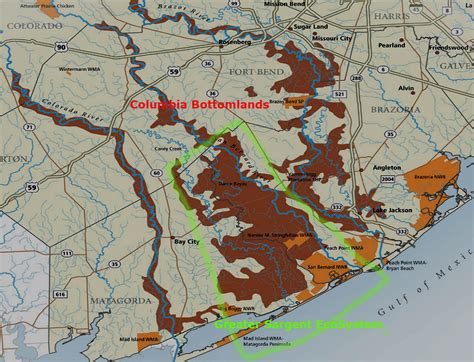 sargent texas map greater sargent ecosystem fishsargent