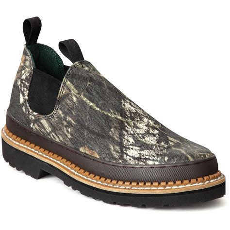 s 174 camo romeo slip on work shoes mossy