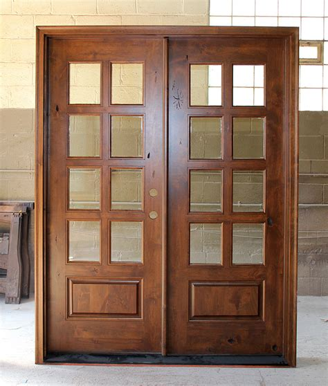 building exterior door knotty alder exterior doors