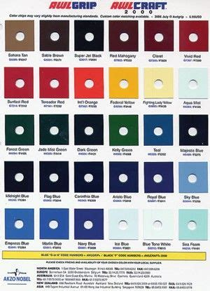 awlgrip colors awlgrip color chart awlgrip topside paint claires marine