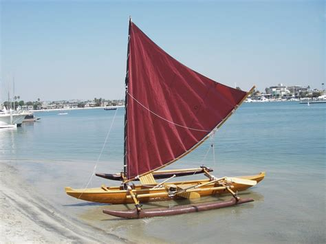 canoes with sails canoe and kayak sailing