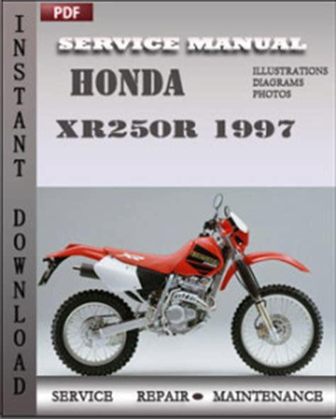 honda xrr  service manual  repair service manual