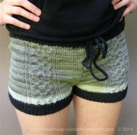 knitted shorts pattern free 33 best images about knitted crochet shorts on