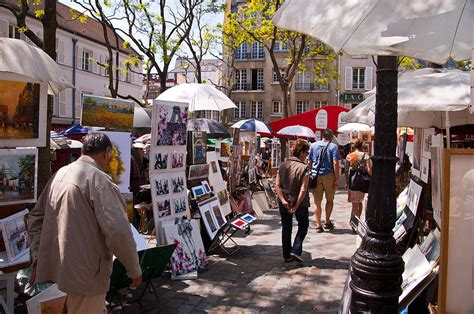 Santa Fe Home Decor artist colony of montmartre photograph by jon berghoff
