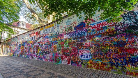 Map Of The World Wall Mural john lennon wall prague janette asche flickr