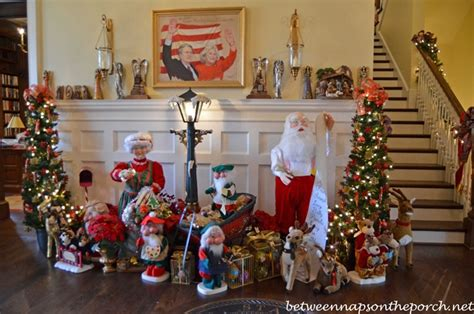 governor roy and barnes home decorated for