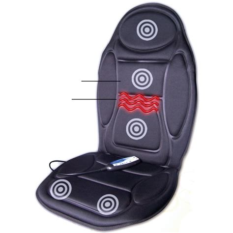 car seat warmer and massager heated back and seat massager sports supports