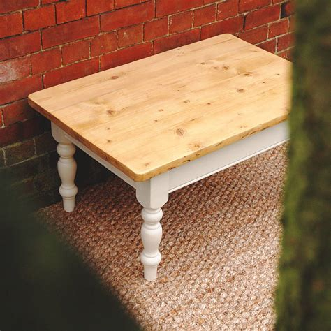 Painted Country Pine Coffee Table By Paper Plane Huon Pine Pine Coffee Tables For Sale