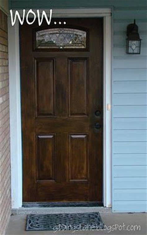 Wood Look Front Doors 25 Best Ideas About Faux Wood Paint On Distressing Wood Wood Finishing And