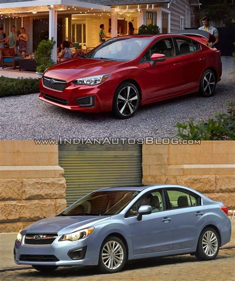 subaru old 2017 subaru impreza sedan vs 2011 subaru impreza sedan