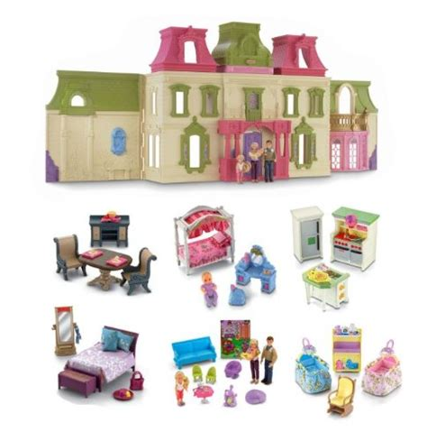 fisher price loving family doll house furniture furniture 171 loving family dollhouse com