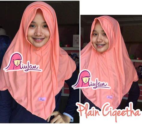 Baju Muslim Jilbab Murah Instant Bando Kekinian grosir bergo murah jual jilbab instan modern