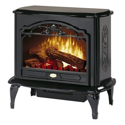 Fireplace Electric Heater Dimplex Symphony Stoves Celeste Electric Fireplace Stove Heater In Black Tds8515tb