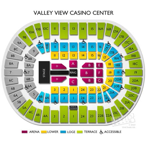 layout of valley view casino center valley view casino seating chart valley view casino