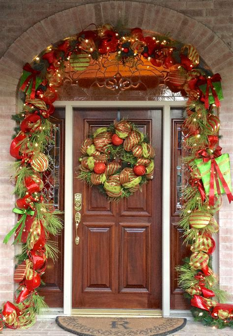 door ornaments 20 door decorations ideas for this year