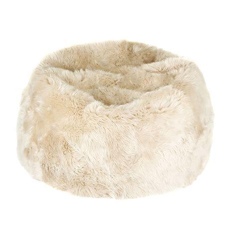 sheepskin bean bag buy a by amara new zealand sheepskin bean bag linen amara