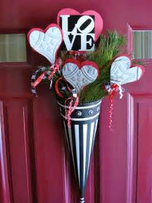 door decorations for valentines valentines day door decor wreaths