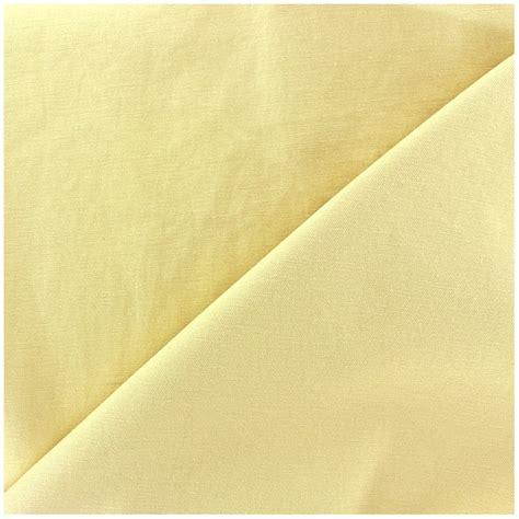 Mat Fabric by Mat Lycra Gabardine Fabric V2 Light Yellow X 10cm Ma