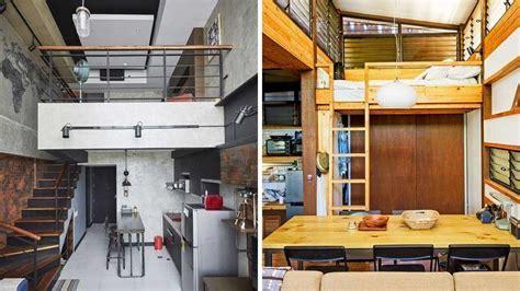amazing small space ideas  loft homes