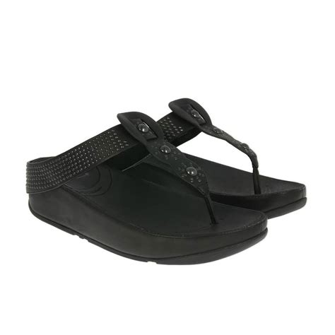 fitflop black sandals fitflop boho sandals black free uk delivery