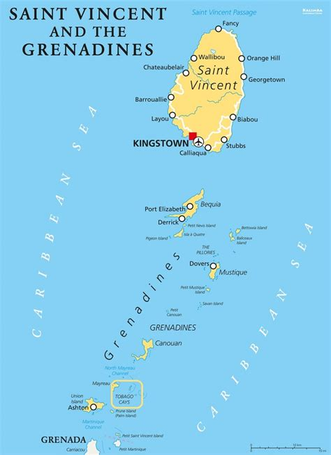 st vincent grenadines map tobago cays day trips discover the grenadines
