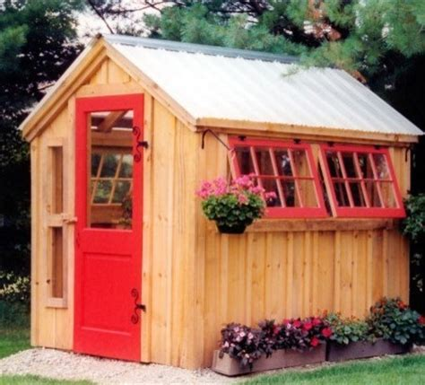 Small Potting Shed Ideas by Small Garden Potting Shed Traditional Shed Other