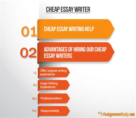 Cheap Essay Writing by Cheap Websites That Write Papers For You