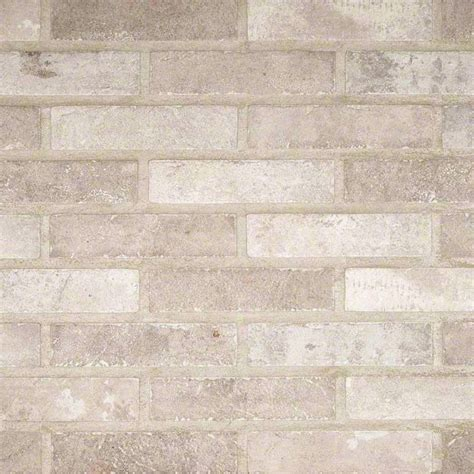 buy capella ivory brick 2x10 porcelain wallandtile com