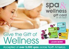 Spa And Wellness Gift Card Spa Week - somatic massage gift ideas on pinterest gift card sale gift certificates and massage