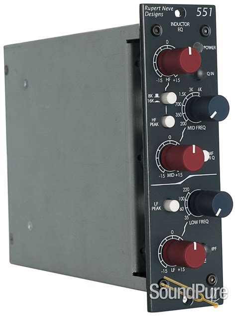 500 series inductor eq rupert neve designs 551 500 series inductor eq