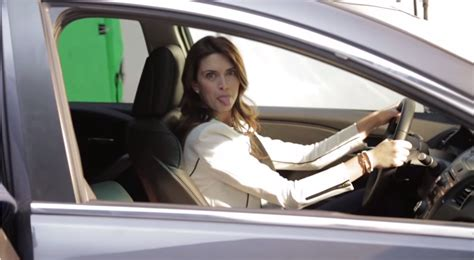 woman singing   acura car commercial  news wheel