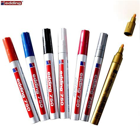 Colored Marker Pen germany edding 750 paint colored marker pen 2mm high