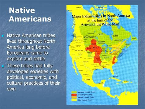 american map before colonization colonization and settlement ppt