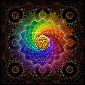 Om Lotus Mandala Lotus Om Mandala Print By Lilyas On Deviantart