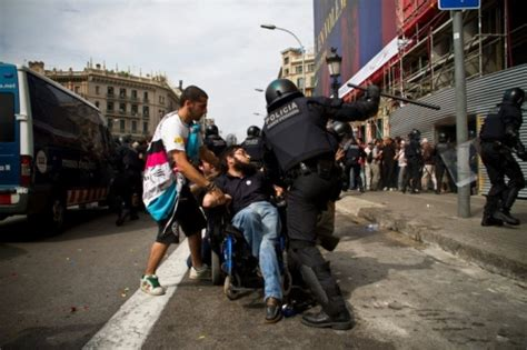 nigger violence why the police violence in barcelona was a big mistake
