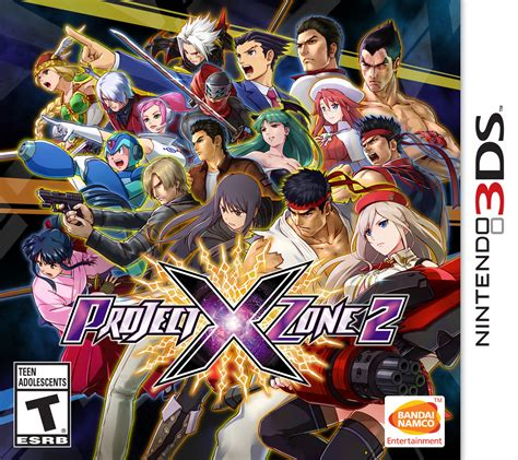 Kaset 3ds Project X Zone 2 Project X Zone 2 Nintendo 3ds Bandai Namco Store
