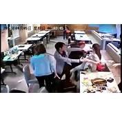 LiveLeak  Girls Throw Hot Pots To Fight At Restaurant