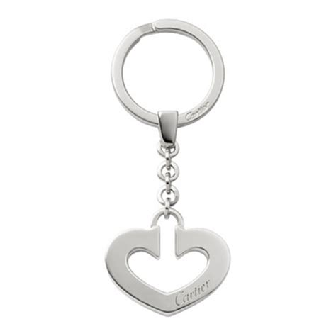 Ring Gantungan Kunci Keriting Standart cartier shaped key chain t1220254 betteridge