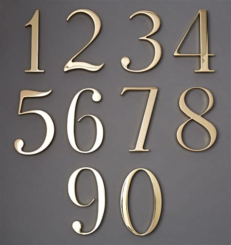 house numbers traditional house numbers rejuvenation