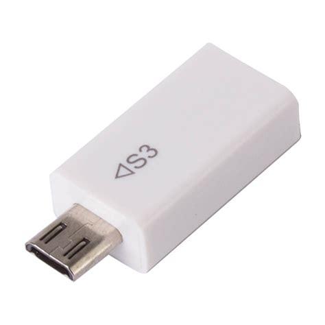 Adapter Micro Usb Ke Hdmi Mhl01 micro usb 5 pin to 11 pin hdmi mhl adapter converter for samsung galaxy s3 white