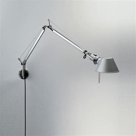 artemide tolomeo applique applique tolomeo micro led bras articul 233 led aluminium