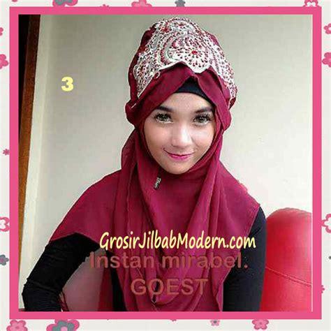 Maribel Syari jilbab instant mirabel original by goest no 3 marun