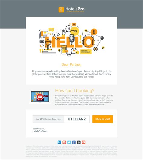 Welcome Email Design Newsletter Hello Welcome Design Ui Template Image Responsive Email Hotel Email Template